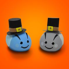 The Cuddlebots are thankful for each other, and their new hats.