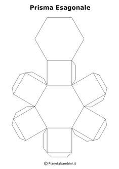 Tante figure geometriche solide in PDF per bambini pronte da stampare gratis, ritagliare e costruire con carta o cartoncino e da incollare Escher Tessellations, Tessellation Patterns, Paper Box Template, Learning Italian, Box Design, Problem Solving, Silhouette Cameo, Paper Crafts, Bracelet Patterns