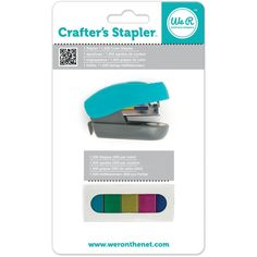 We R Memory Keepers Crafter's Stapler www.papercrafts.ch