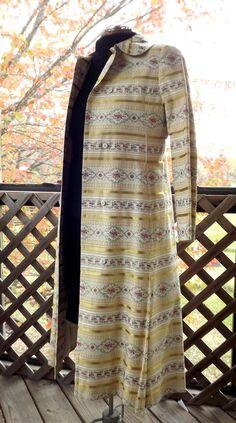 Floral Brocade Coat, Evening Trench Coat, Womens Flower Coat, Formal Coat, Wedding Coat, Size Small 0 1 2