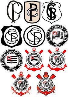 bedda80613 A evolução do nosso escudo Imagem Corinthians