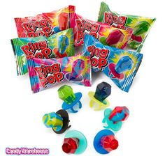 Assorted Ring Pop Candy