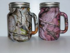 Hey, I found this really awesome Etsy listing at http://www.etsy.com/listing/129618428/mason-jar-beer-mugs-in-pink-and-tan