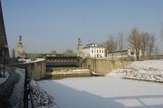 Wien - Schleuse Nußdorf