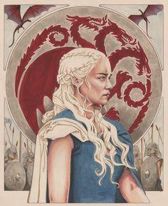 Daenerys Targaryen: Breaker of Chains by Allison Sohn