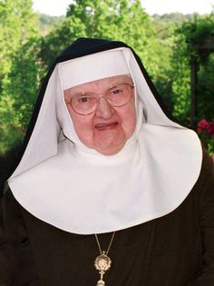 """No matter what anybody says to you or about you, it is nothing compared to what you are in God's Eyes.""--Mother Angelica #TuesdayTip"