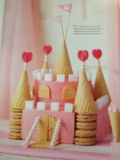 Resultado de imagen para castle cake diy