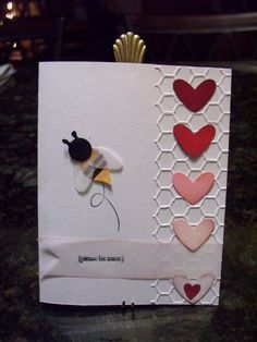 please be mine... by Heidio - Cards and Paper Crafts at Splitcoaststampers