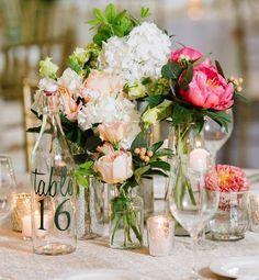 Featured Photographer: Natalie Franke Photography; Breathtaking green wedding reception centerpiece decor