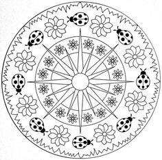 Mandala de printemps