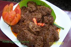 Kuliner - Aneka Resep Masakan Asli Minangkabau....RENDANG SAPI