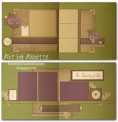 2 layouts by Annette