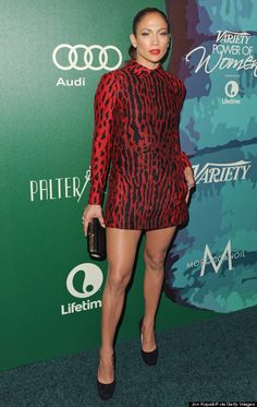 Jennifer Lopez Sizzled In A Minidress At Variety's Power Of Women Luncheon