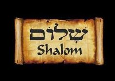 Shalom means peace. It is used as a greeting. Menorah, Why Jesus, Perfect Peace, Learn Hebrew, Hebrew Words, Prayer Flags, Bible Truth, Jewish Art, Star Of David