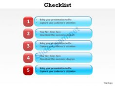checklist with boxes slides and powerpoint templates 0612 powerpoint info graphics