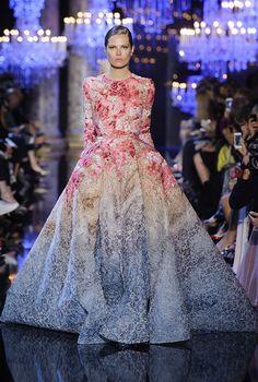 Неделя высокой моды в Париже: Elie Saab, осень-зима 2014, Buro 24/7