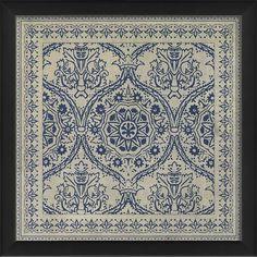 Tile 9 Framed Graphic Art