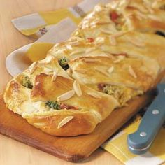 Chicken 'n' Broccoli Braid