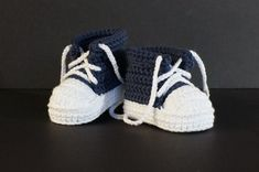 Crochet Baby Shoes, Crochet Baby Booties,Crochet Baby Tennis Shoes, Blue Baby Shoes,Baby Boy Shoes, Baby Boy Booties,Baby Tennis Shoes, Blue by jdurayful on Etsy