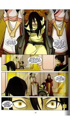 Azula and Zuko from the Avatar manga