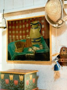 Painted interior of a retro house in France » Adorable Home