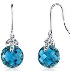 Peora.com - 14 kt White Gold 8.50 Carats London Blue Topaz Diamond Earrings E18774, $219.99 (http://www.peora.com/14-kt-white-gold-8-50-carats-london-blue-topaz-diamond-earrings-e18774/)