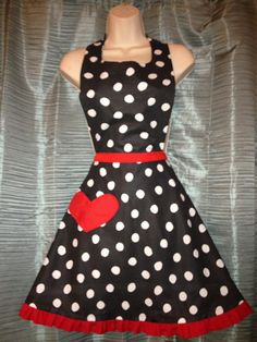 I Love Lucy Inspired Apron