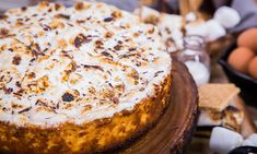 """Home & Family - Recipes - """"Taste of Home's"""" S'mores Cheesecake Recipe 