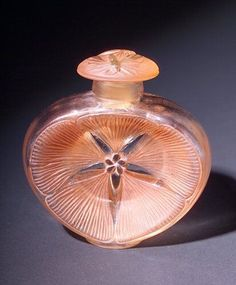 "Lalique perfume bottle, ""narkiss,"" circa 1912 for Roger Gallet"
