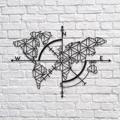 25 best metal wall art images on pinterest metal wall art metal map of life metal wallart decoration decor homedecor home gumiabroncs Gallery