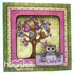 Heartfelt Creations | Owl Tree Card