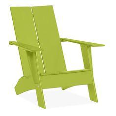 Emmet Outdoor Lounge Chair & Ottoman - Modern Outdoor Chairs & Chaises - Modern Outdoor Furniture - Room & Board