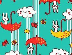It's raining bunnies! <3