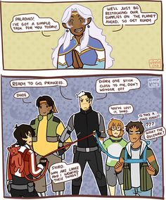 voltron Space Dad is always prepared | Tumblr