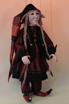 marionette Forgotten Goblin marioneta puppet OOAK artdoll