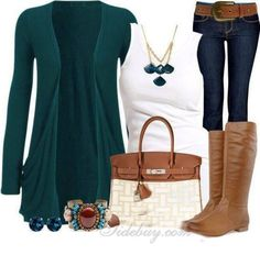 I love teal and brown together, such a good combo.