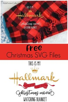 Easy DIY Christmas Gifts: Holiday blanket gift with vinyl. My Hallmark Christmas movie-watching blanket and Baby it's cold outside free SVG cut files. # easy DIY Gifts Easy DIY Christmas Gifts: Custom Holiday Blanket with Cricut Diy Christmas Blankets, Easy Diy Christmas Gifts, Christmas Svg, Christmas Gift Tags, Christmas Ideas, Christmas Projects, Christmas Traditions, Xmas Gifts, Christmas Time