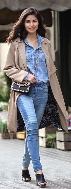 First Hints Of Spring Outfit Idea                                                                             Source