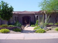 Desert Landscape Design Ideas front yard desert landscape design google search 30 Desert Concept In Landscaping Designs Ideas For Small Yards Stones And Plants Desert Landscaping