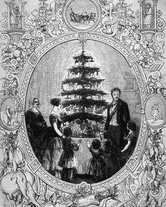 Christmas Trees Story, Christmas Carol, Christmas Traditions, Christmas History, Christmas Hanukkah, Reine Victoria, Queen Victoria, Victoria Plum, Prince Albert
