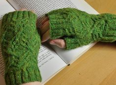 Well Rooted Mitts from Karen Butler Designs