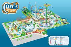 Image result for amusement park map