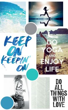 Fitness Brand Mood Board // Anelise Salvo Design Co.