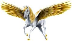 pegasus - - Yahoo Image Search Results Yes, a fantasy Pegasus that I created and is copyrighted to me, Artsieladie/Sharon Donnelly.  It's great to share but if the artist's name is not included, then eventually no one sharing knows who created the art.