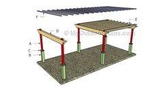 Building a rectangular pergola