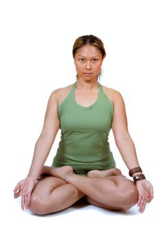 How to Do Lotus Pose in Yoga #yoga  protect your body make sure your doing yoga poses the right way :)