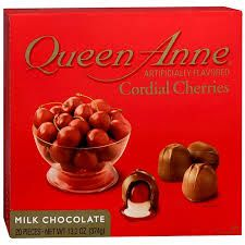 queen anne's chocolate covered cherries