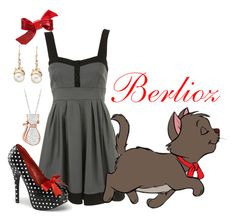 """""""Berlioz"""" by ivyskye ❤ liked on Polyvore featuring WalG, Disney, Mimco and LC Lauren Conrad"""