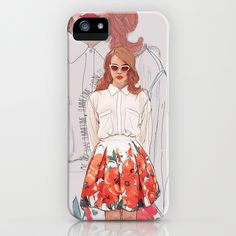 Super Cool Lana Del Rey! Summertime Sadness  iPhone Case
