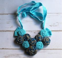 Crochet Necklace, Jewelry, Fashion, Crochet Collar, Jewellery Making, Moda, Jewerly, Fasion, Jewlery